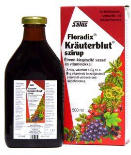 Kezdőlap - krauterblut szirup vassal 500 ml